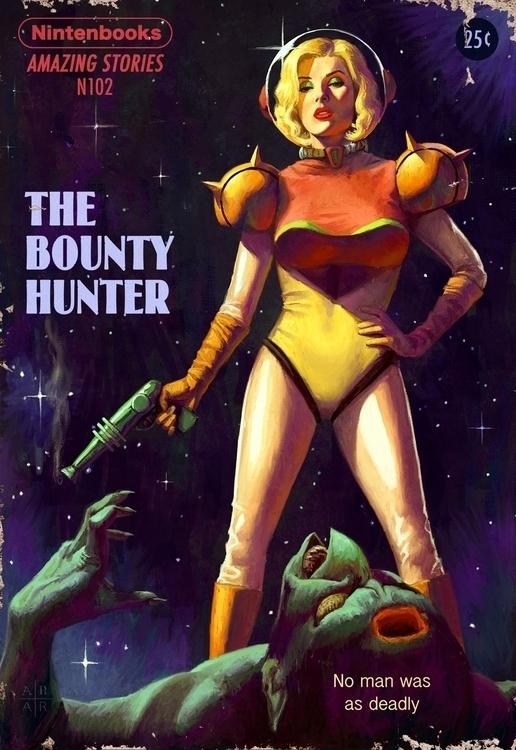 Pulp Nintendo -- Bounty Hunter - astoralexander | ello