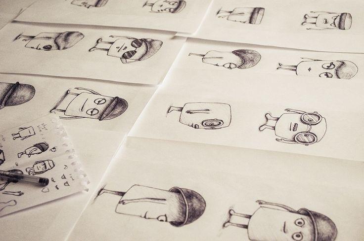 Personajes militares - ilustracion - samuelarmas3 | ello