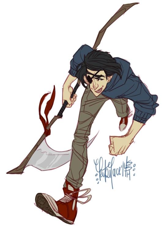 Reaper Bro - commission - kikiface | ello