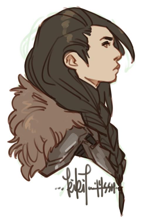 Lady Knight - commission - kikiface | ello