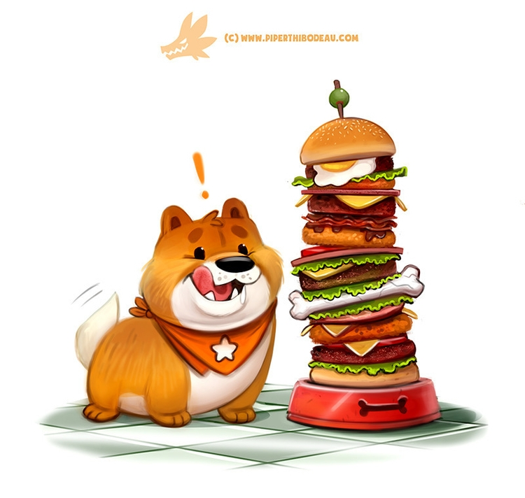 Chowchow (Commission Treat camp - piperthibodeau | ello