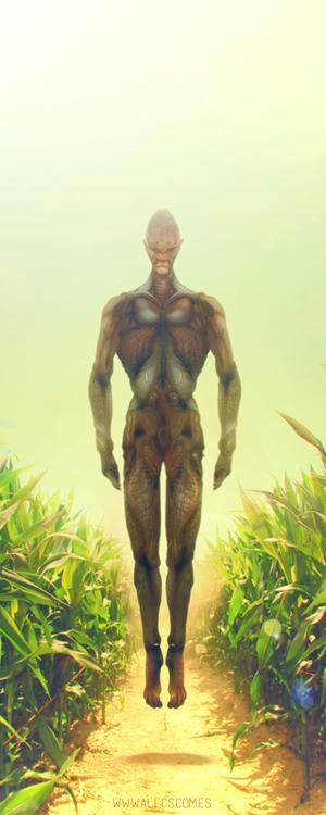 Arrival - sci-fi, sciencefiction - alecs-1191 | ello