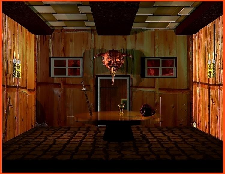 Cabin 3D Max Model - environment - wilkinso-5391 | ello