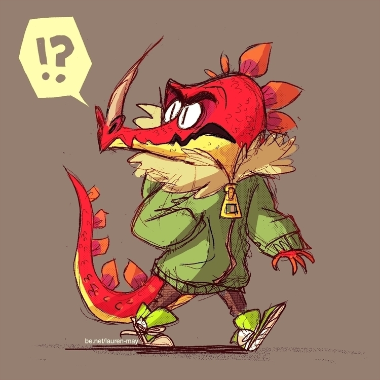 Dragon boy - illustration, characterdesign - laurenmay-1325 | ello
