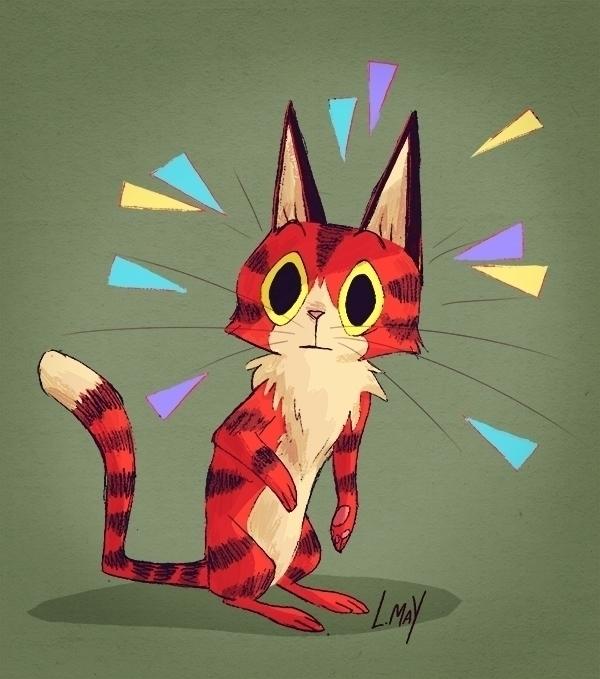 Cat - illustration - laurenmay-1325 | ello