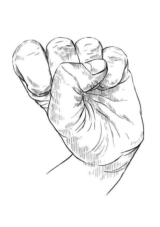 Mudra 3 - illustration, drawing - martinadirce | ello