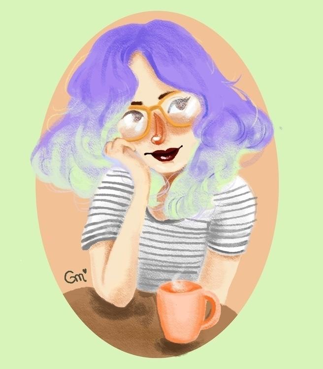 Study/2017 - illustration, painting - gabrielamolinaro   ello