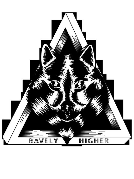Bavely / Higher - illustration, illustrator - monsieurlaw | ello