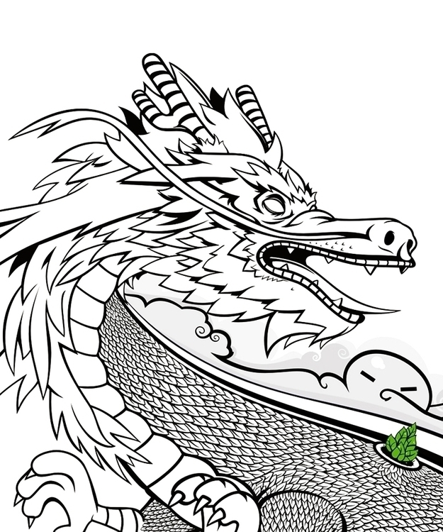 Dragon - dragon, lines, characterdesign - biko-1282 | ello