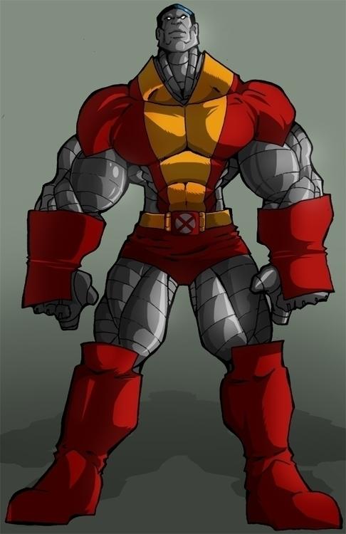 Colossus - illustration, animation - rickmarin   ello