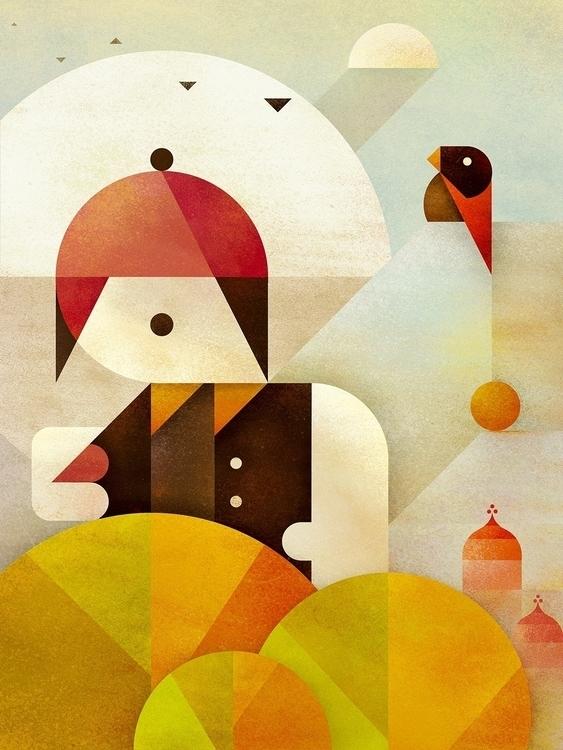 Birdman - birds, minimal, abstract - squizzato | ello