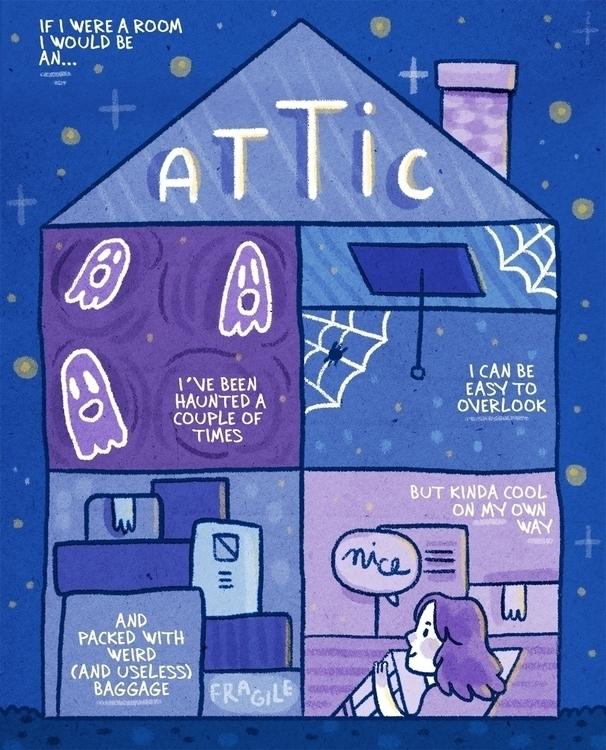 room - comics, mini, autobio - imnot12 | ello