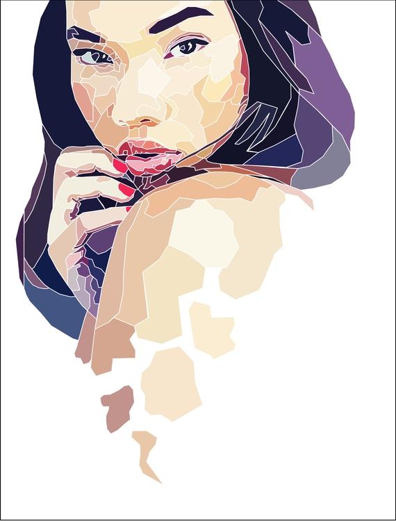 Fan art Beautiful Ashley Moore - cheyenneskyy | ello