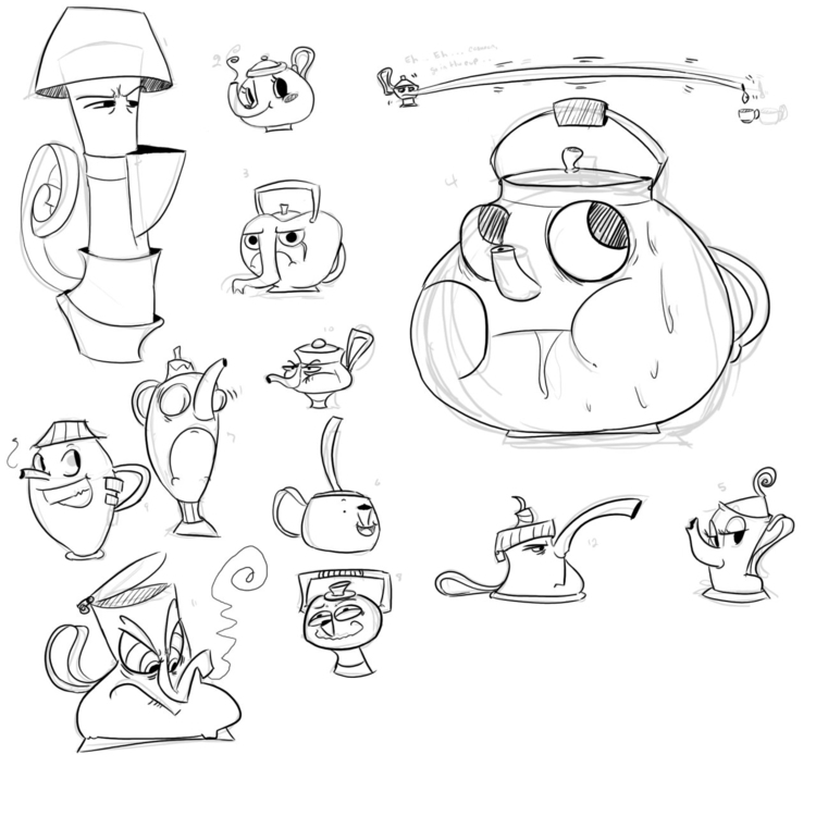 Cartoon Teapot Designs - teapot - zitoisneato | ello