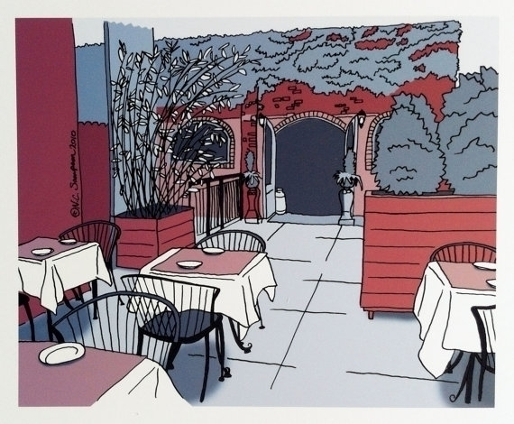 Benchmark Restaurant Park Slope - nancydraws | ello
