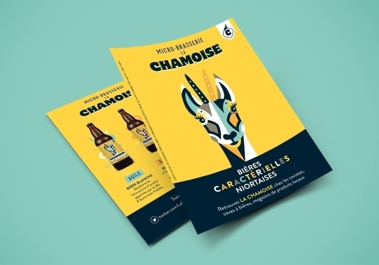 La Chamoise Flyer - illustration - antoinegadiou | ello