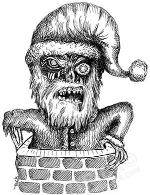Zombie Santa - santa, zombiesanta - trick-6303 | ello