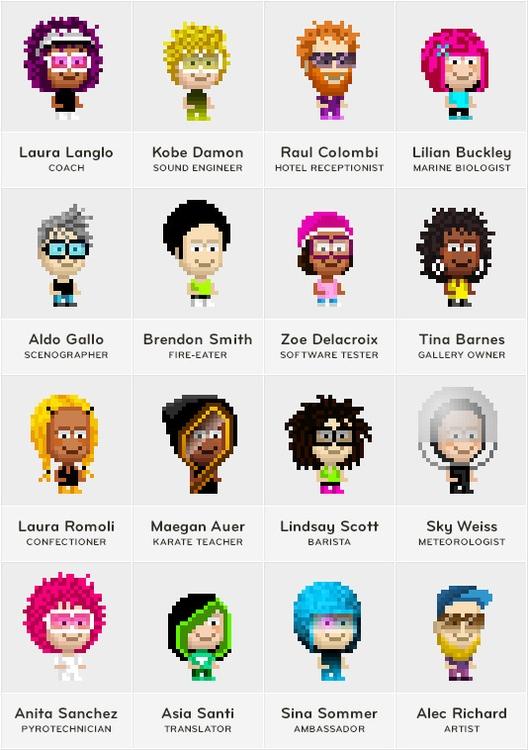 PixelMogul iOS Game - character - ala-1037 | ello