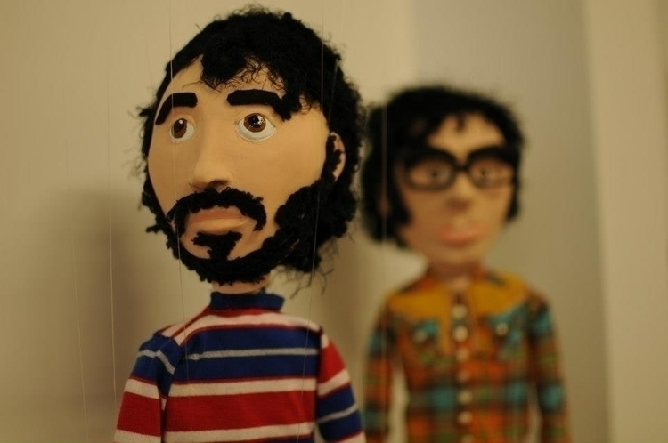Flight Conchord marionettes - flightoftheconchords - tessamorrison | ello