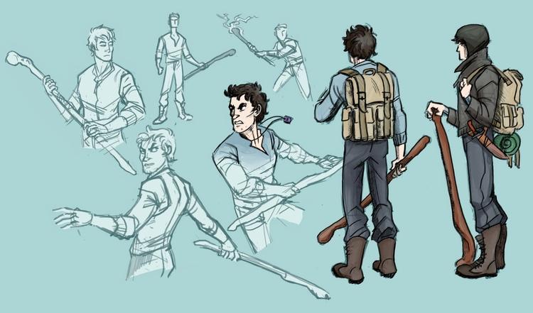 character concept - characterdesign - mernolan | ello