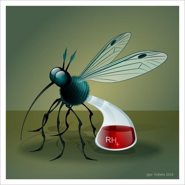 Laboratory Mosquito - vectorillustration - igor01 | ello
