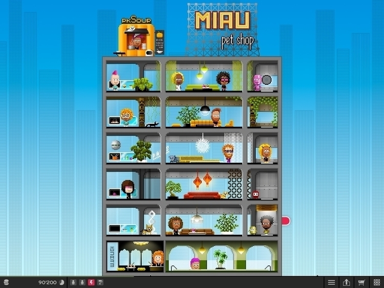 PixelMogul iOS Game - House - illustration - ala-1037 | ello