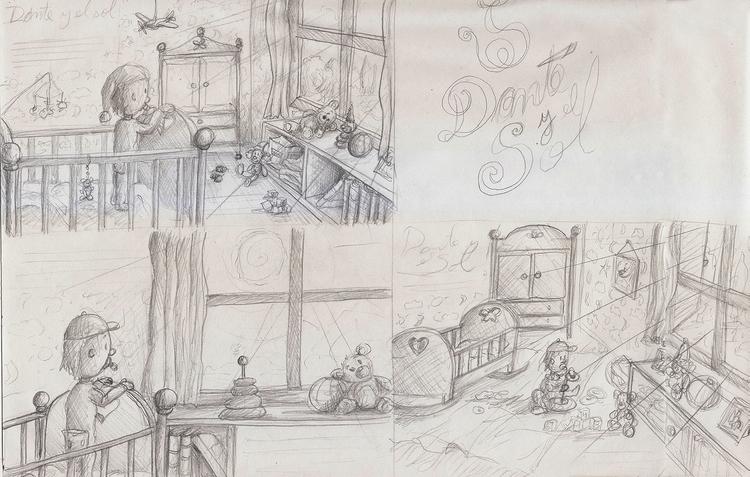 sketches, illustration - nahuelullua | ello