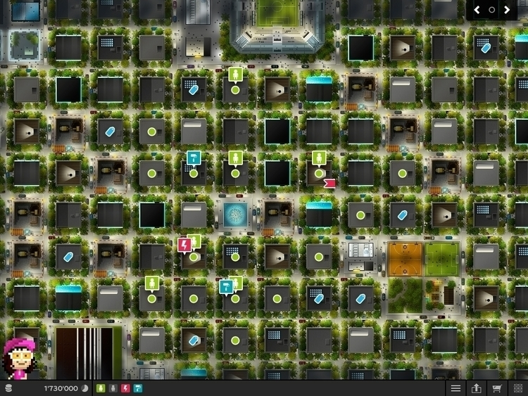 PixelMogul iOS Game - Map night - ala-1037 | ello