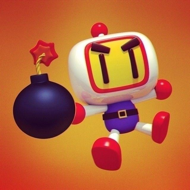 Bomberman - 3d, arcade, bomberman - cecymeade | ello
