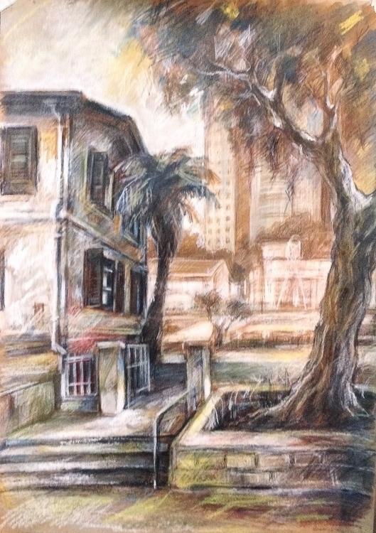 illustration, painting, drawing - iragolberg | ello