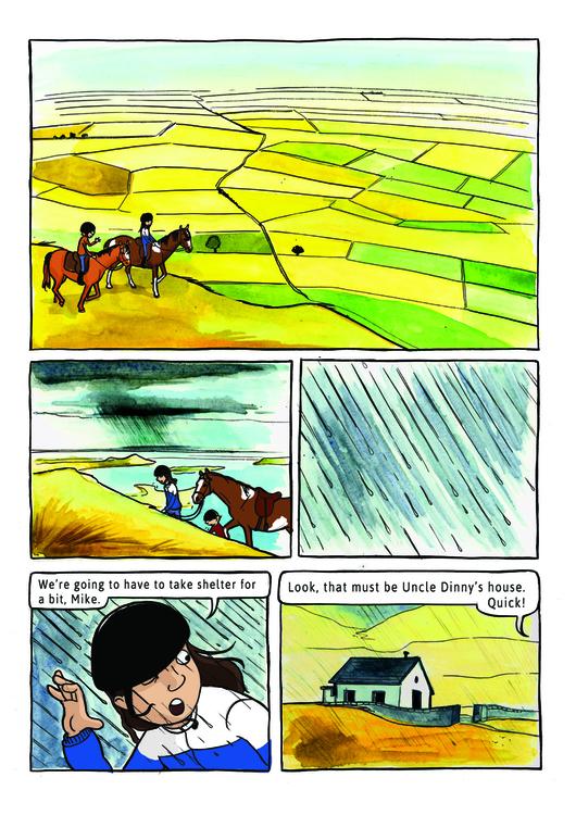 Sample Page Pony Kids - comics, tween - debbiejenkinson | ello