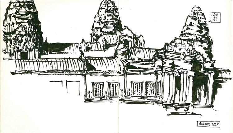 angkor wat Siem Reap - architecture - annemony | ello