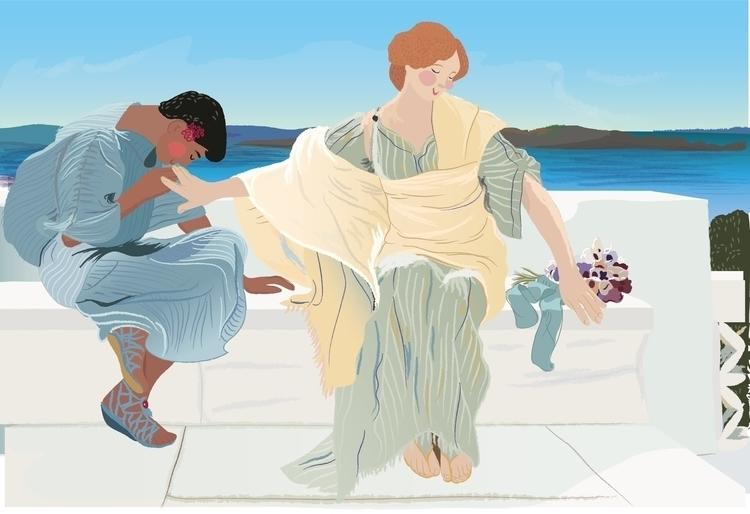 de Lawewnce Alma-Tadema - illustration - carosegovia | ello