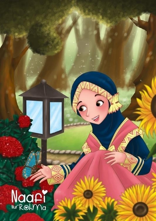 book cover - illustration, children'sillustration - naphipuccino | ello