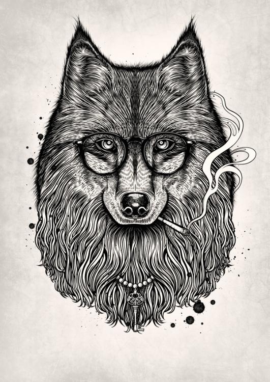 Winya 24 - fox, wolf - winya | ello