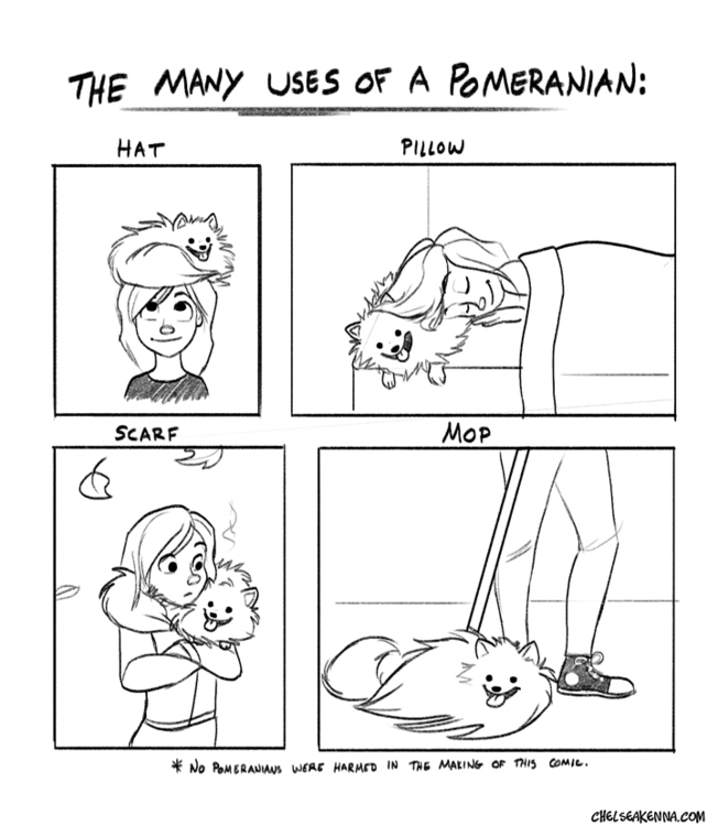 supposed mop floor - comics, pomeranian - chelseakenna | ello