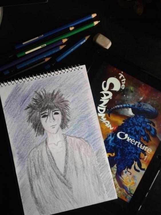 Morpheus - drawing, sketch, sandman - jang-4468 | ello