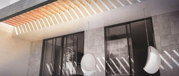 Terrace - 3d, design - cruvi   ello