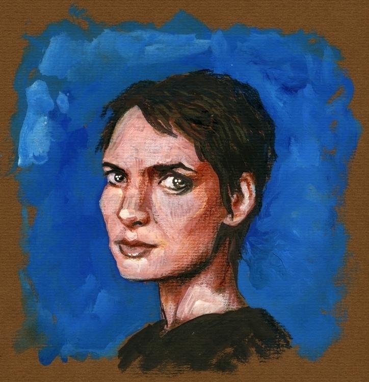 Winona Ryder - winona, portrait - prianikn | ello