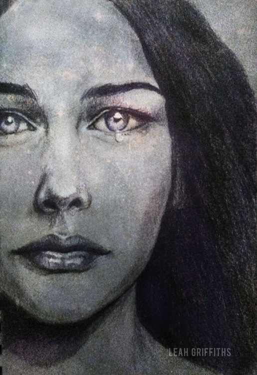 Arwen. Graphite white charcoal  - leahgriffiths | ello