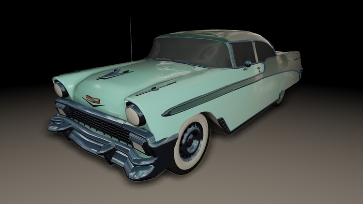 1956 Chevrolet Bel Air - vehicle - brittanyshively | ello