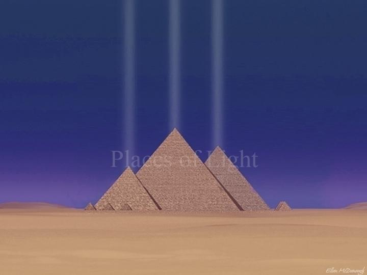 Giza Power PlacesofLight.com - giza - emcdonough | ello