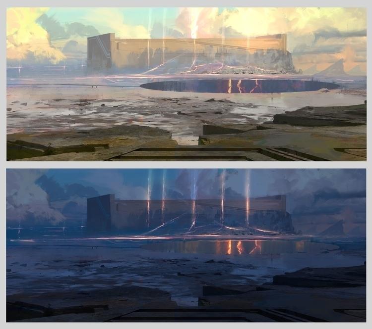Tower_Of_Flame - environment, conceptart - fenris-1300 | ello
