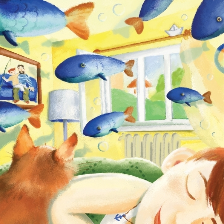 June dreams - illustration, children'sillustration - prianikn   ello