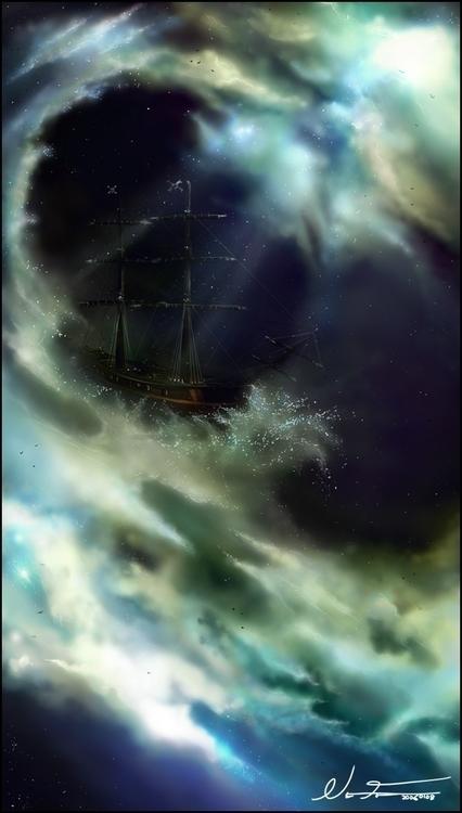 Sky Ocean pirateship lost etern - nalfaren | ello