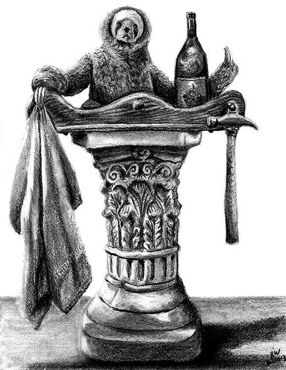 Sloth Life Drawing Pencil - drawing - wilkinso-5391 | ello