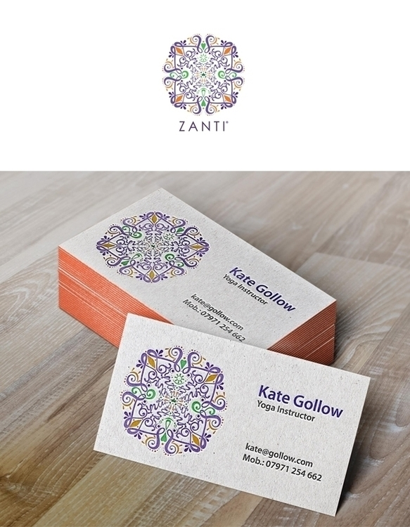 Zanti logotype based Mandala - logo - mixidot | ello