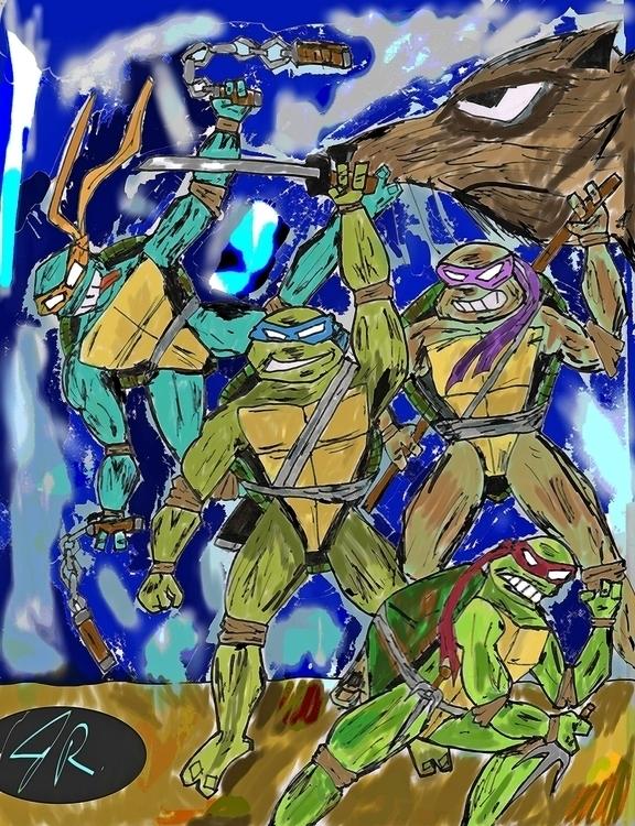 Proud Father - illustration, digitalart - janoryusaru | ello