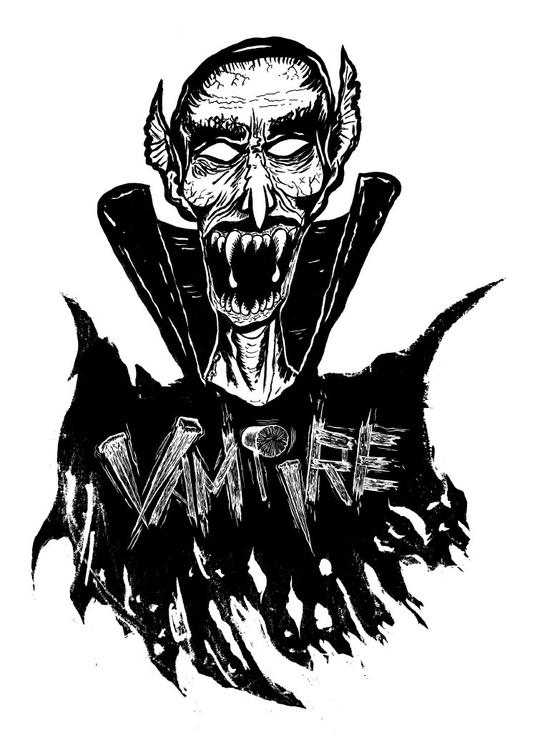 vampiregraphic/vamp, BlackWhite - scsladecarter | ello