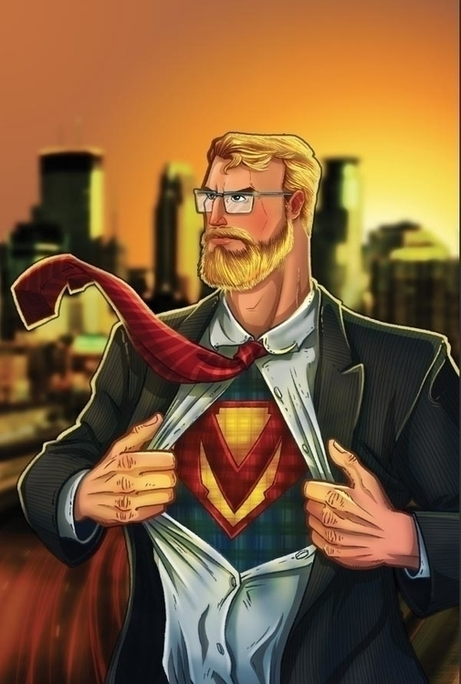 Midwestern Man - comics, comicbooks - drewblom | ello